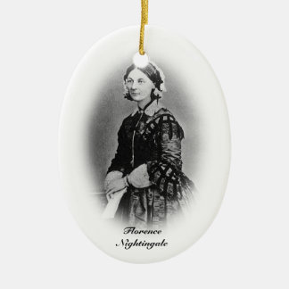 Florence Nightingale-Nursing Graduate+personalize Christmas Ornament