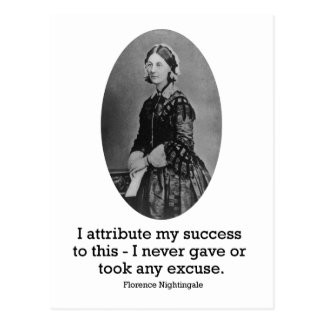 Florence Nightingale Postcard