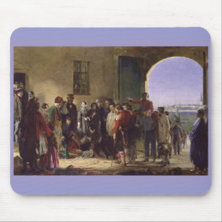 Florence Nightingale Receiving the Wounded Scutari Mouse Mat