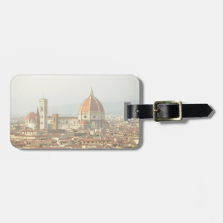 Florence or Firenze Italy Duomo Luggage Tag