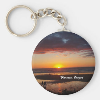 Florence, Oregon Key Ring
