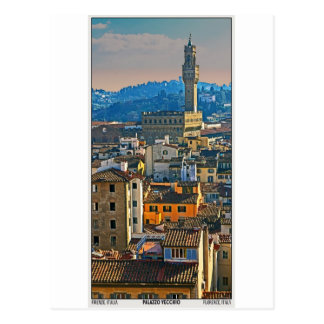Florence - Palazzo Vecchio Post Card