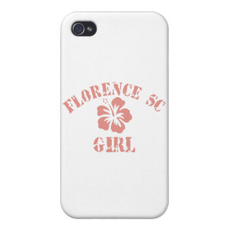 Florence Pink Girl iPhone 4/4S Covers