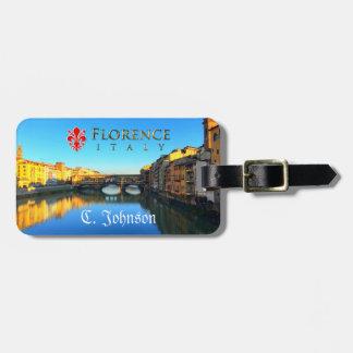 Florence - Ponte Vecchio Luggage Tag