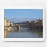 Florence Ponte Vecchio Mousepads