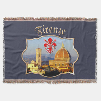 Florence - Santa Maria del Fiore Throw Blanket