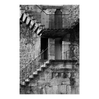 Florence Staircase Poster