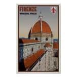 Florence - The Duomo Print