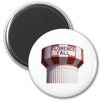 Florence Y all Water Tower Magnet