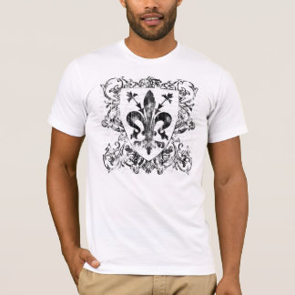 Florentine Fleur-de-lis Men's Light Shirt