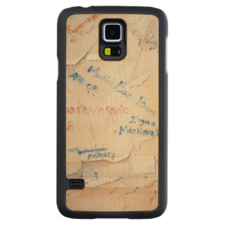 Florentine Graffiti Carved Maple Galaxy S5 Case