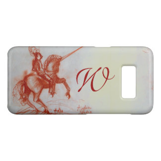 FLORENTINE  KNIGHT ON HORSEBACK Monogram Case-Mate Samsung Galaxy S8 Case