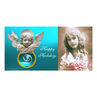 FLORENTINE RENAISSANCE ANGEL Tuquase Gem Monogram Photo Cards