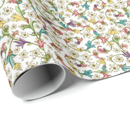 Florentine style wrapping paper
