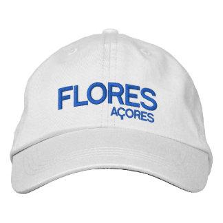 Flores* Açores Adjustable Hat Embroidered Hats