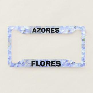 Flores Azores Custom License Plate Frame