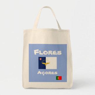 Flores Azores Custom Tote Bag