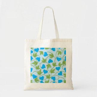 Flores Azuis Budget Tote Bag