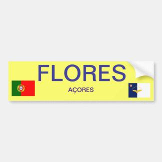 Flores* Bumper Sticker