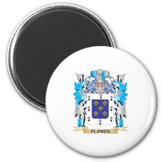 Flores Coat of Arms - Family Crest Refrigerator Magnet