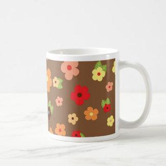 Flores coloridas mugs