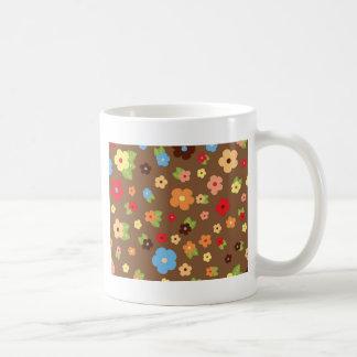 Flores coloridas coffee mug