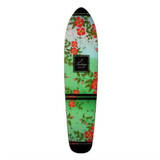 Flores Del Agua Custom Skateboard