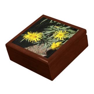 """Flores en mi hierbas """"Flowers in my Weeds"""" Trinket Boxes"""