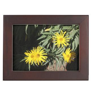 """Flores en mi hierbas """"Flowers in my Weeds"""" Keepsake Boxes"""