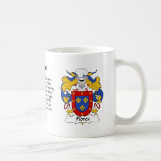 Flores Family Crest cup Coffee Mug