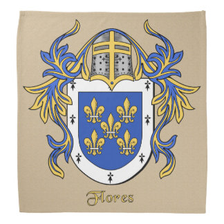 Flores Historical Coat of Arms Bandanna