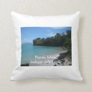 Flores Island Pillow