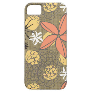 Flores-Linen iPhone 5 Covers