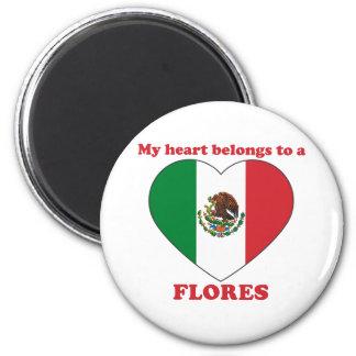 Flores Fridge Magnets