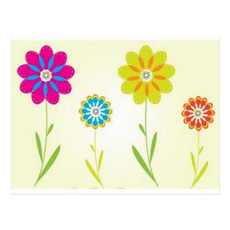 flores postcard