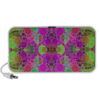 Florescent Abstract Mp3 Speakers
