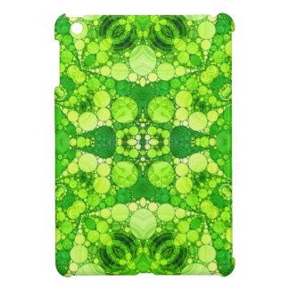 Florescent Fractal iPad Mini Covers