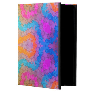 Florescent Pink Turquoise Abstract Powis iPad Air 2 Case