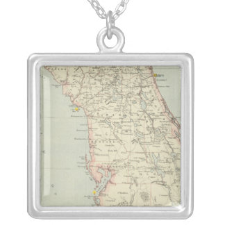 Floriada, United States Silver Plated Necklace