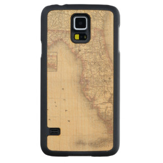 Florida 10 carved maple galaxy s5 case
