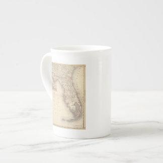 Florida 10 bone china mug