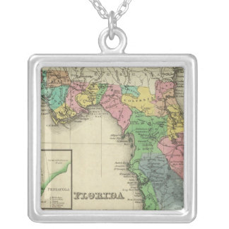 Florida 11 silver plated necklace
