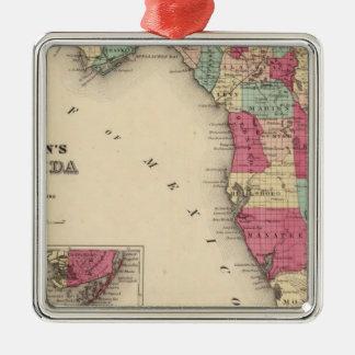 Florida 7 christmas ornament