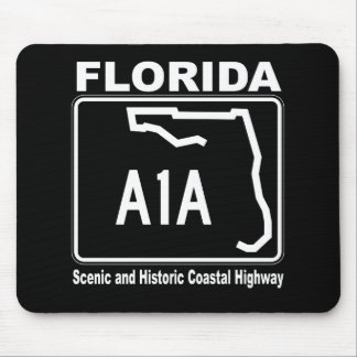 Florida A1A Scenic and Historic Coastal Highway Mouse Mat