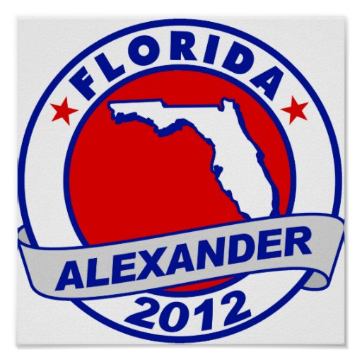 Florida Alexander Posters