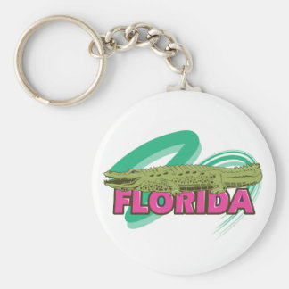 Florida Alligator Key Ring