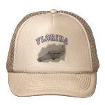 Florida alligator trucker hats