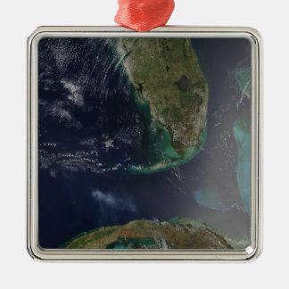 Florida and Cuba Christmas Ornament