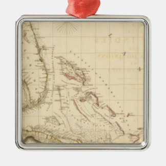 Florida and West Indies Christmas Ornament