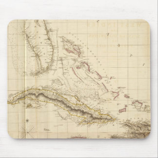 Florida and West Indies Mouse Mat